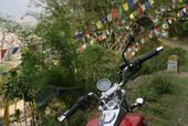 Motorcycle trip through Nepal