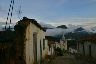 Venezualan mountain town