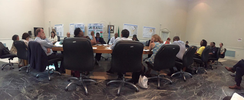 Humanitarian Country Team meeting in Nigeria