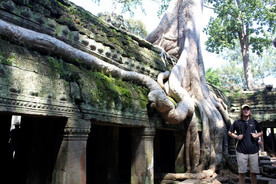 Temples near Angkor Wat in Cambodia