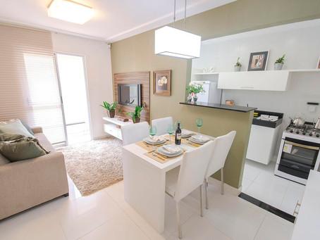 Decoração para apartamentos compactos