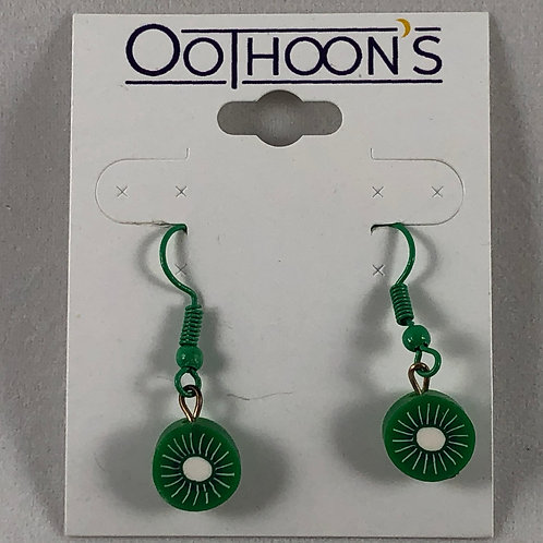 Green Kiwi earrings