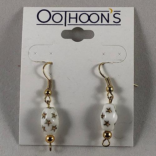 Gold Star Oothoon's earrings
