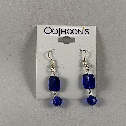 Deep Blue Dangle earrings