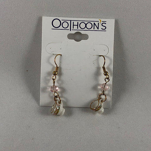 Tempestuous Teacup earrings