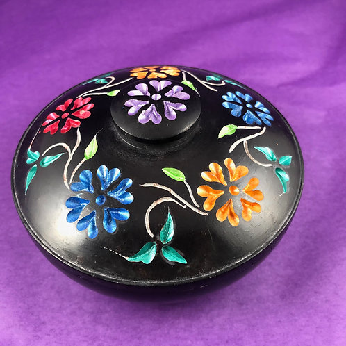 Flowered Incense Pot