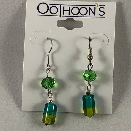 Sea Greens earrings
