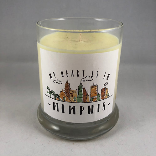 Memphis Made Candle