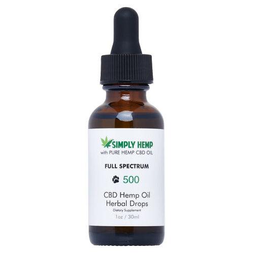 CBD Pet Hemp Oil Drops