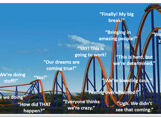 5 Tips for Surviving the Roller Coaster Ride of Building a Business
