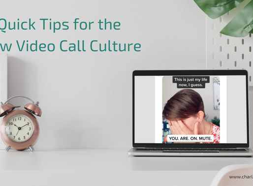 Observations & Tips for the New Video Call Culture