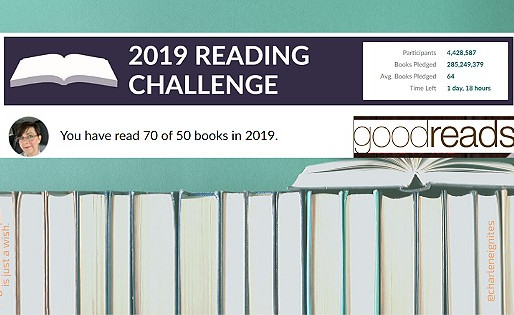 Goodreads Reading Challenge Update