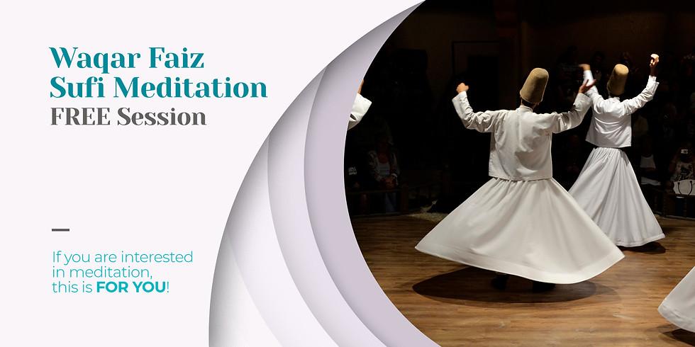 CALIFORNIA | Waqar Faiz | Sufi Meditation
