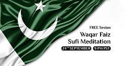 Islamabad & Karachi | Waqar Faiz Sufi Meditation (9PM Pakistan Time)