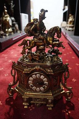 Каминен часовник бронз