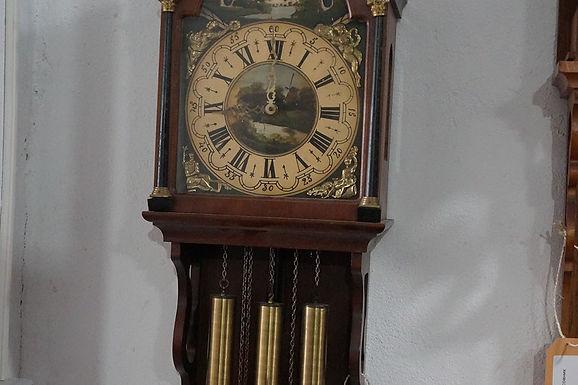 Стенен часовник бронз