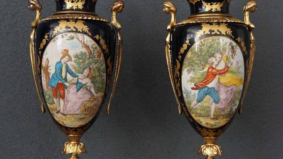 Mounted Sèvres Porcelain