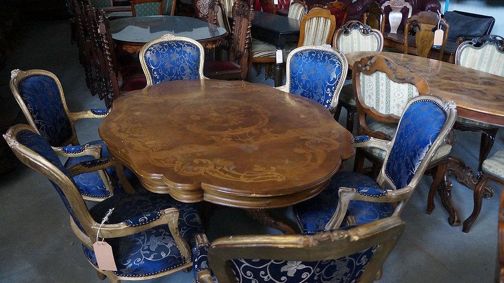 Трапезна маса с 6 бр столове