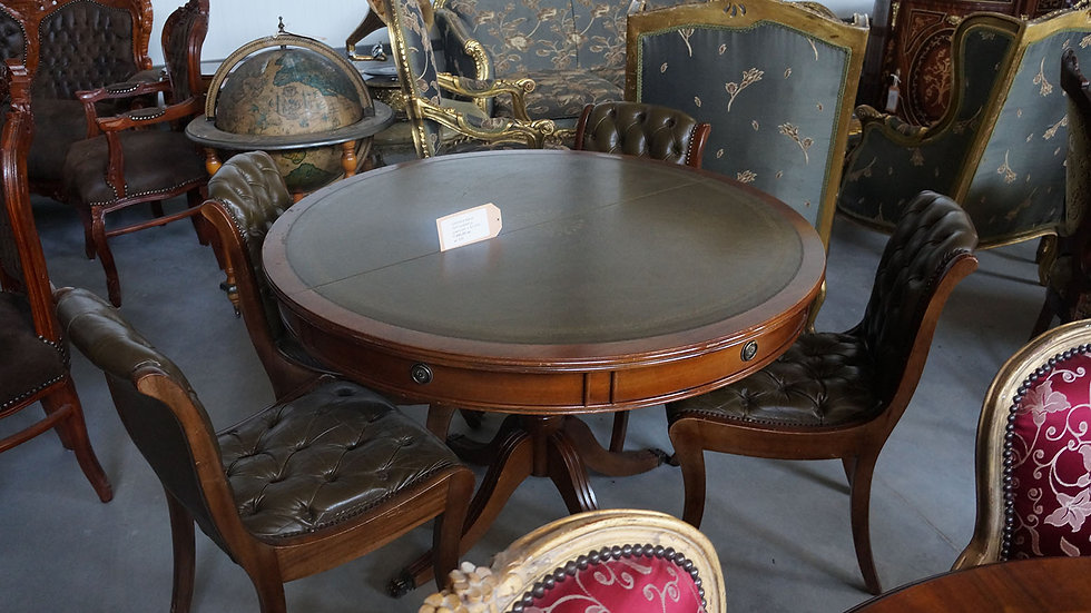 Трапезна маса Честърфийлд с 4 стола