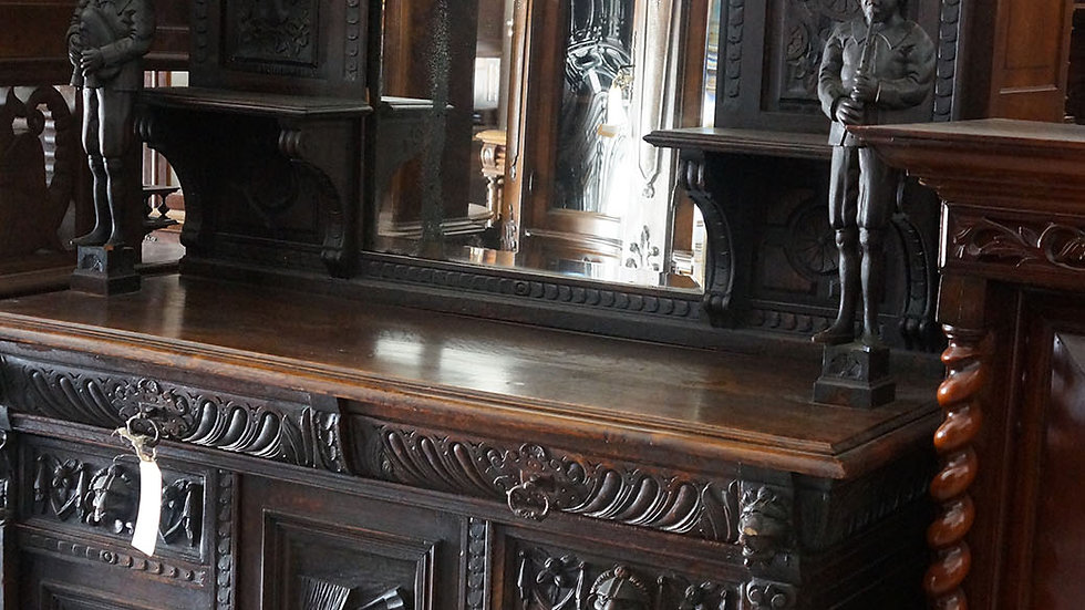 Бретонски античен шкаф