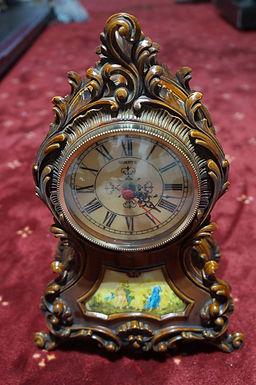 Каминен часовник дърво