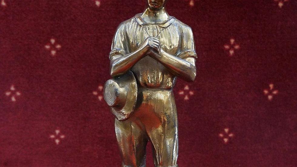 Медна статуетка
