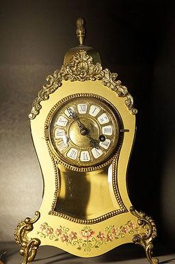 Каминен часовник бронз орнамент