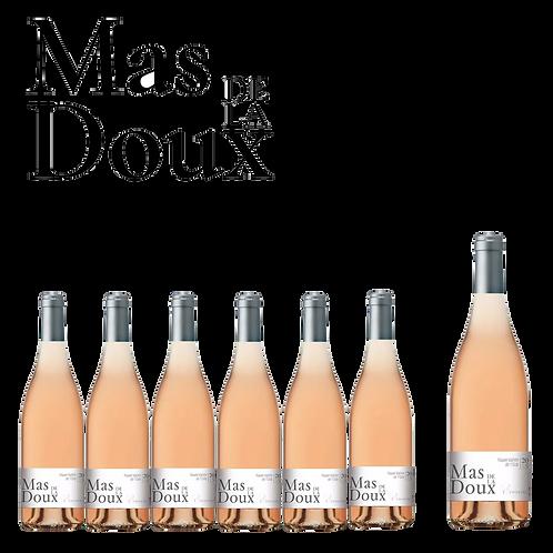 6 Mas de la Doux 'Convives' Rosé 75 cl + Magnum