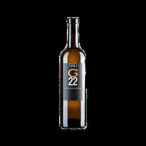 G22 txakoli blanco - Bodega Gorka Izagirre Bizkaiko Txakolina 2013 - 150 cl