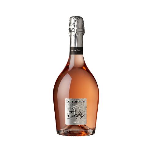 Spumante rosé 'Gabry' brut - La Tordera  75 cl