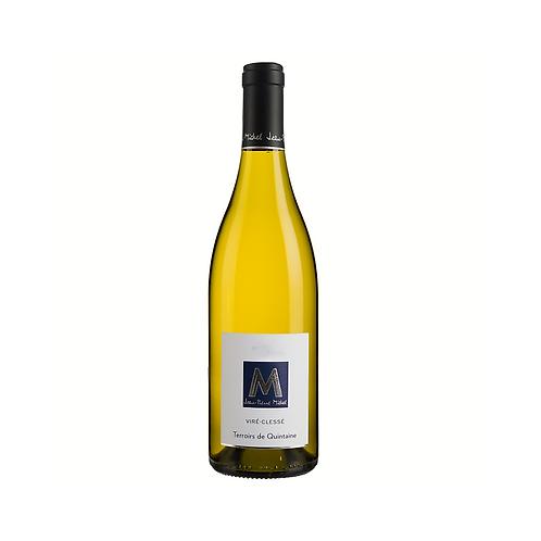 Vire Clesse -Terroirs de Quintaine- Jean Pierre Michel 2014 - 37,5 cl