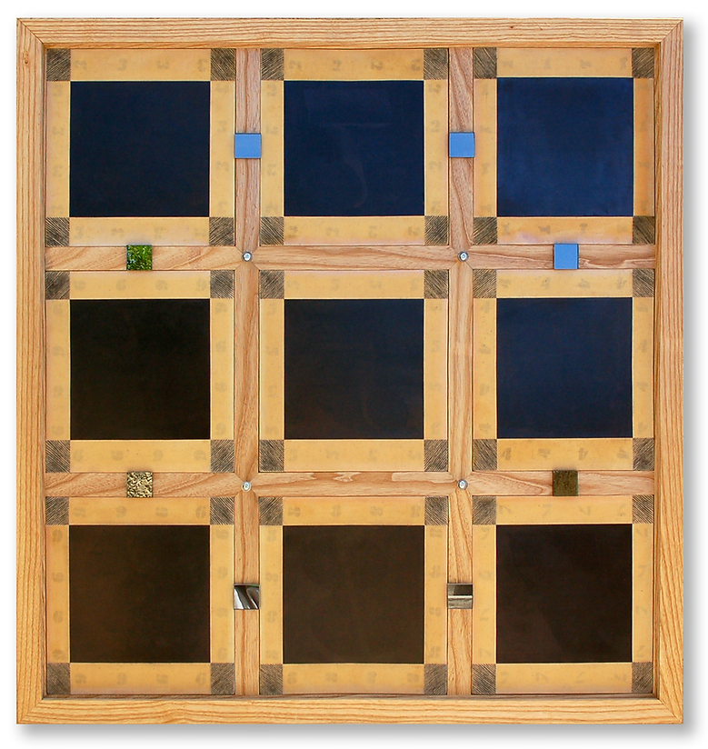 NINE SQUARE NOUGHTS - 2009
