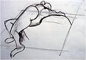 Art College Drawing 1992 - Girl