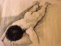 Art College Drawing 1992 - Boy