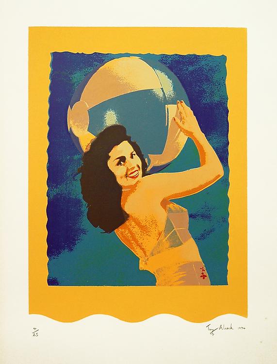 Beachball Girl - 1974