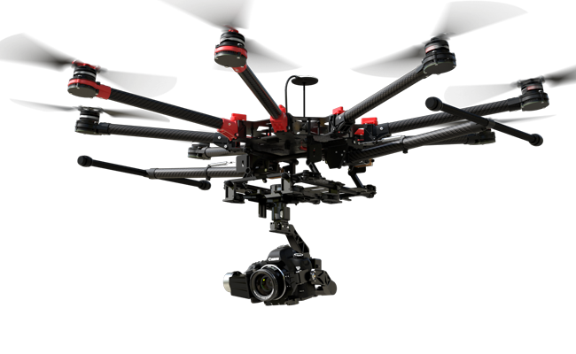 New DJI S1000+ (Plus) for Aerial Photography