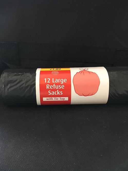 SR 12 Large refuse sacks-  size 70litres