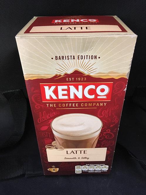 X Kenco latte 8 sachets