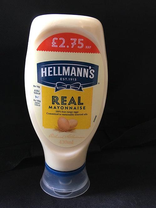 SR Hellmans Mayonnaise 430ml