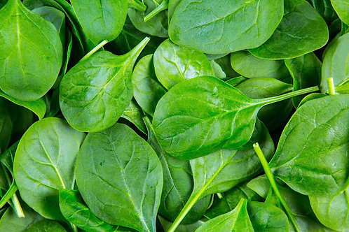 Bag Spinach Leaves