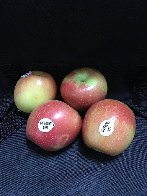 Braeburn Apples - bag of 4 apples