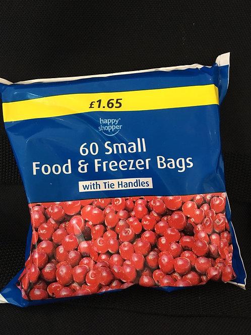 SR 60 small freezer bags 200mm x 315mm