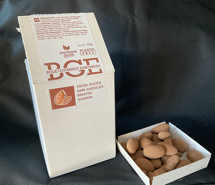 X  Cocoa Dusted Dark Chocolate Roasted Almonds - 420g
