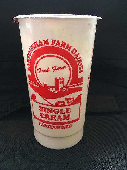 SR Single Cream 284ml/10 fl oz