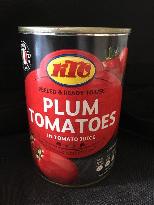 SR Tinned Plum Tomatoes 400g