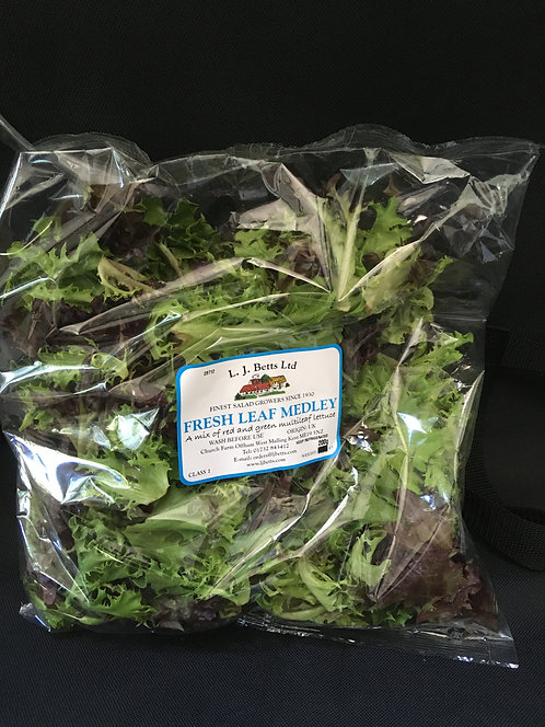 Bag of mixed Lettuce Leaves