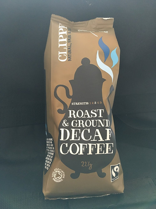 SR Italian style DECAF roast ground coffee 227g
