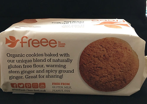 SR Gluten Free  Stem Ginger Biscuits 150g