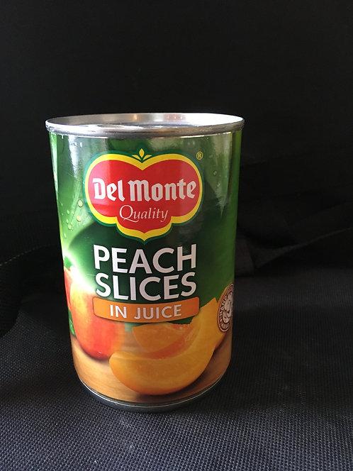 SR Tinned Peach Slices in Juice 415g