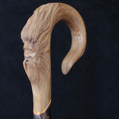 Wood Spirit Stick